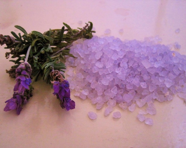lavender body detox bath