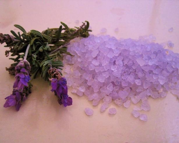 lavender body detox bath